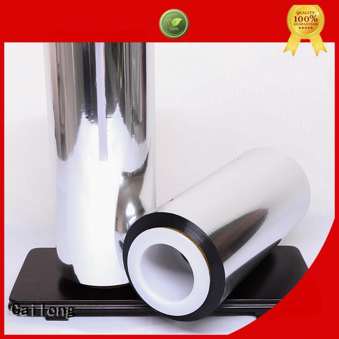 High barrier metallised film semimetallized marketing for product