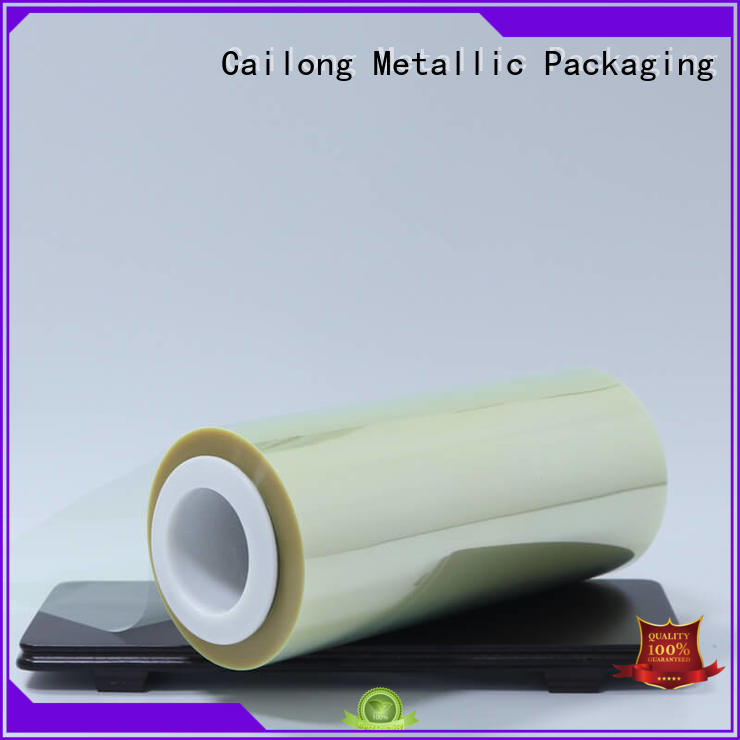 anti film polyester heat for stickers Cailong