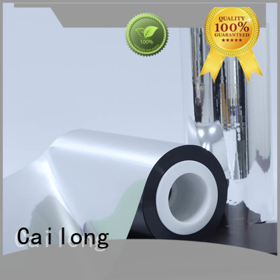 Cailong water vapour metalized polyester film popular for cooked food