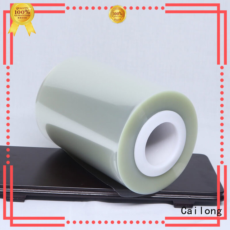 Cailong humanized plastic film roll supplier for stickers