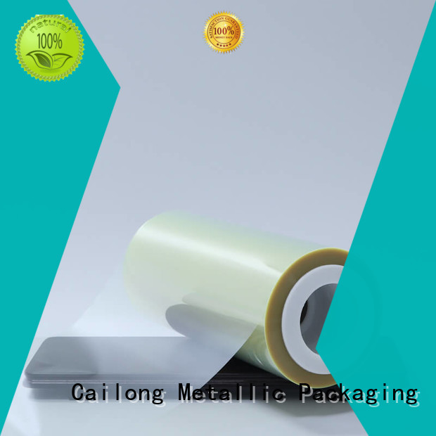 Cailong Anti-UV transparency film certifications for advertising