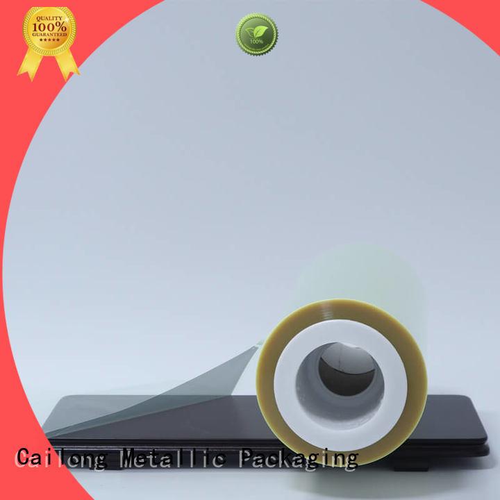 Cailong solid anti static film decorative materials