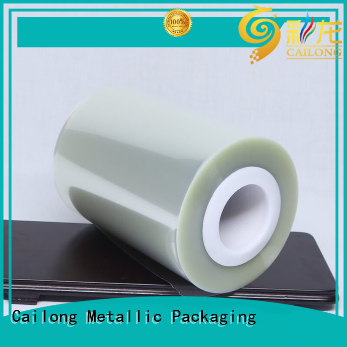 Cailong transferring polyester film supplier for shopping bag
