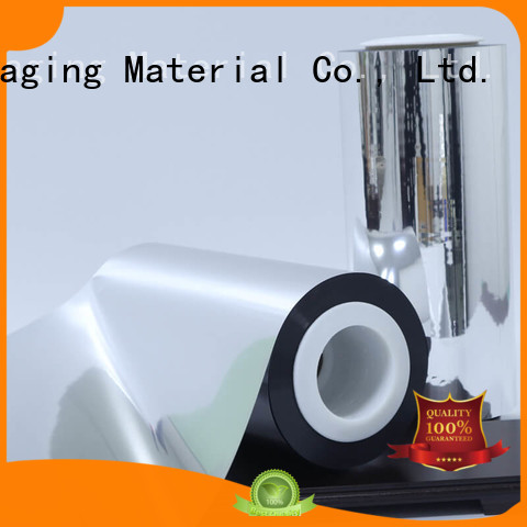 Cailong Good metallic gloss metallised polyester marketing for product
