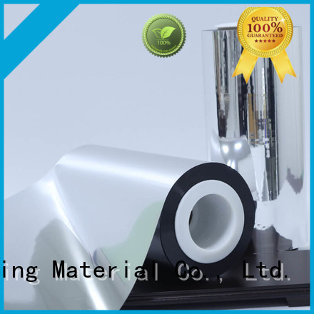 Cailong metallized metalized polyester supplier used for stickers