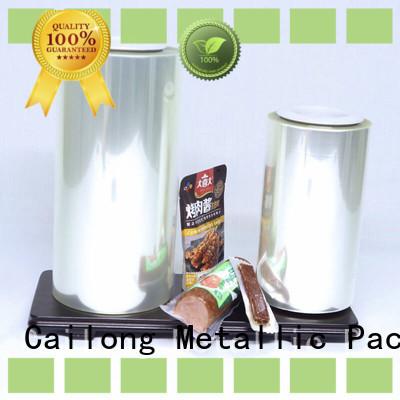 Cailong film transparent barrier film marketing for flavors