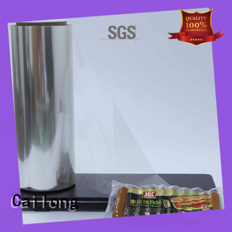 Cailong humanized anti static film widely-use for advertising