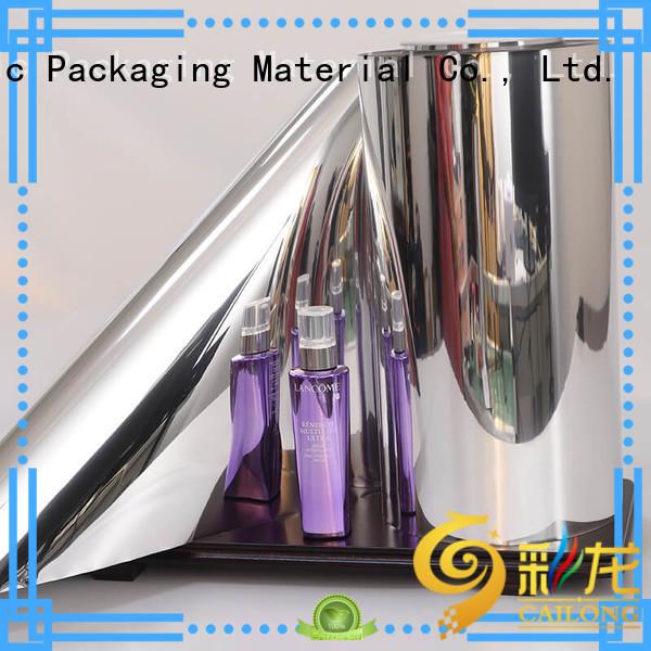 Vacuum Metallized High Gloss PET Film ( VMPET-GL )