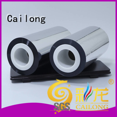 Cailong multiple metalized plastic at discount for bag producing