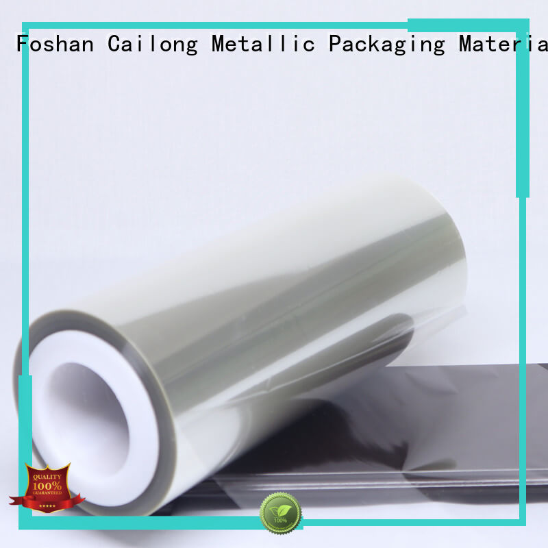 release anti static film supplier for stickers Cailong