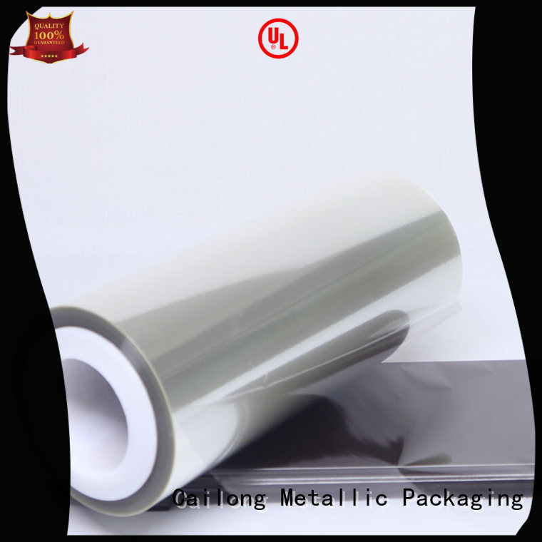 solid polyester pet film for shopping bag Cailong