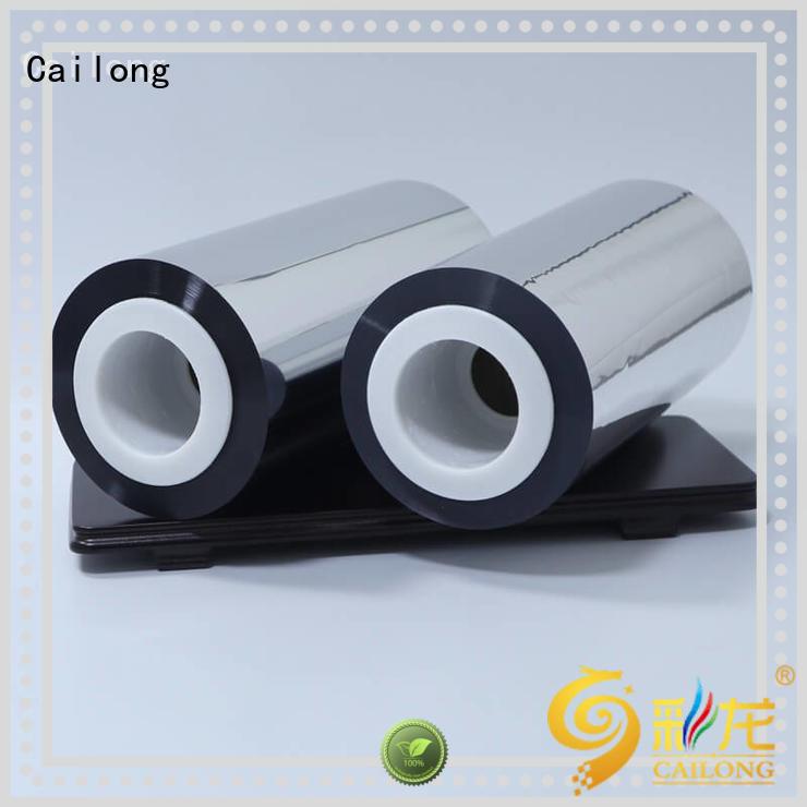 Cailong Vacuum Metallized metallised pet inquire now for Decorative