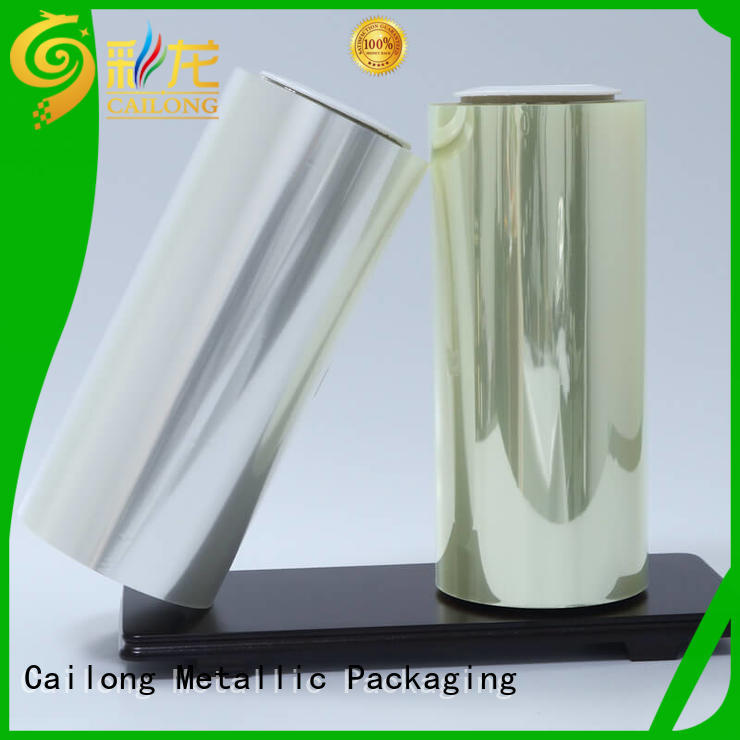 Cailong Anti- Static plastic film long-term-use for shopping bag