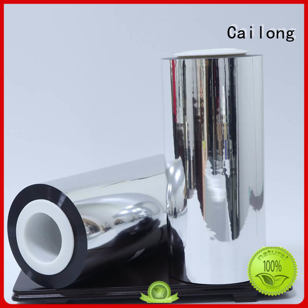 Cailong thin metallic film effectively ffor Decorative