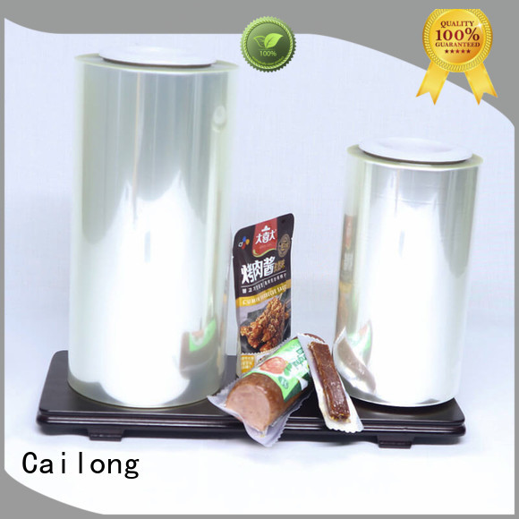 Cailong normal film pet supplier for candy