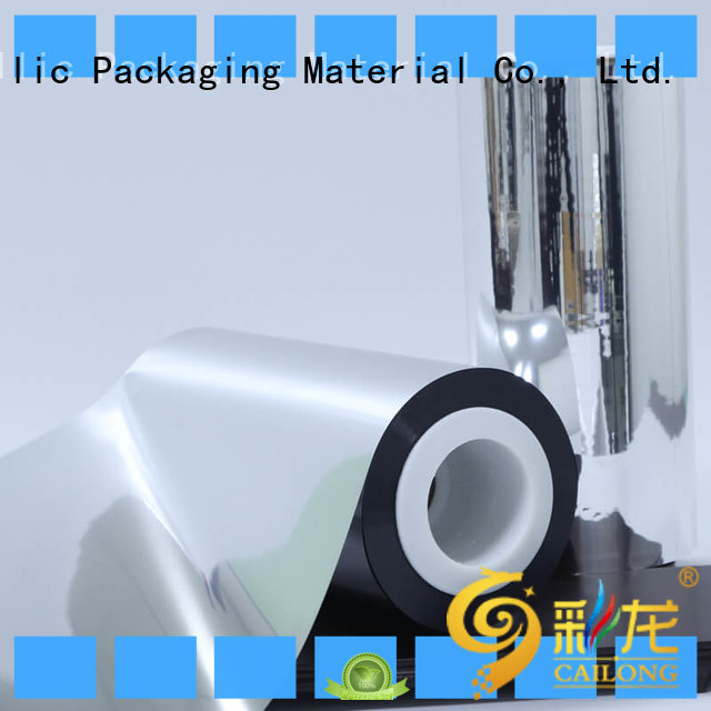 metallized metallic film China for shopping bags