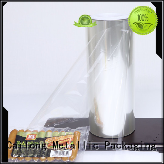 pet aluminized plastic transparent for dehydrated food Cailong