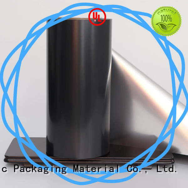 Cailong Anti- Explosion metallised film type used for stickers