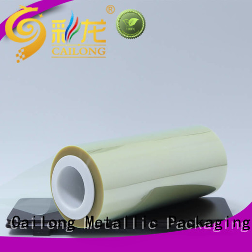 Cailong High Transparent clear film vendor used for labels