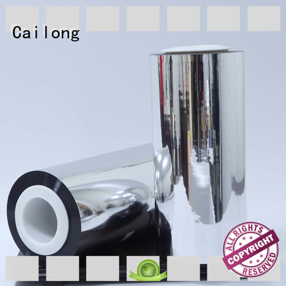 Cailong Good Thermal Insulation metalize film China ffor Decorative