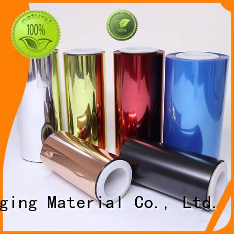 Cailong effective transparent color film manufacturer for printing