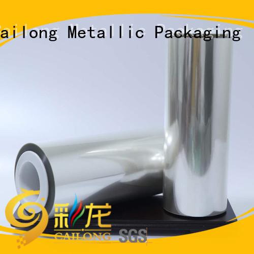 Cailong coating aluminized film supply for tea