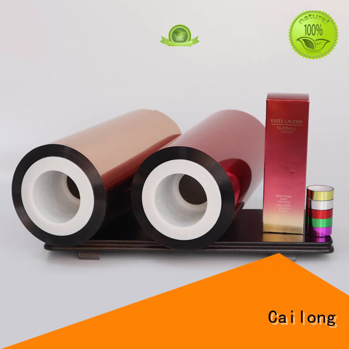 Cailong effective colored window film vendor for packing foor