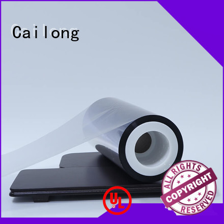 UV light protection polyester foil for-sale ffor Decorative Cailong