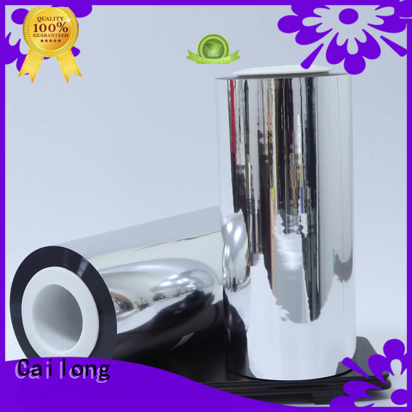 Cailong window metalized film for-sale used for stickers
