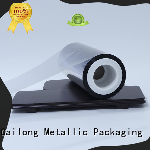 Cailong Good Thermal Insulation metallised film gloss used for stickers