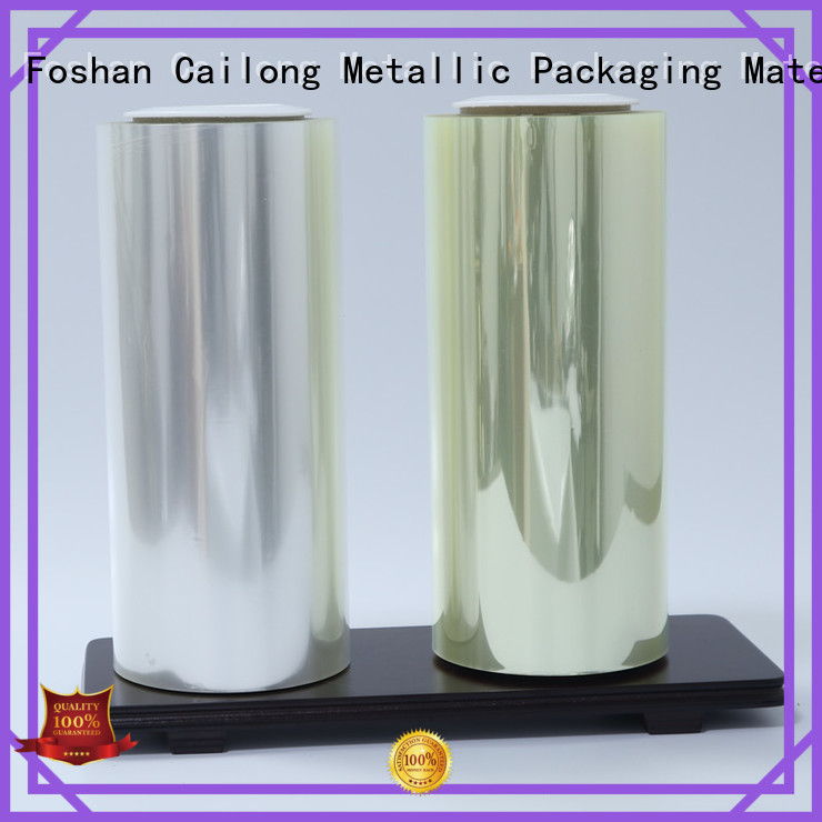 coating barrier films for food packaging transparent for military products Cailong