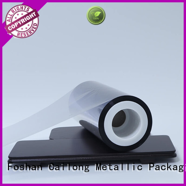 Cailong Good Thermal Insulation metallised polyester coating for product