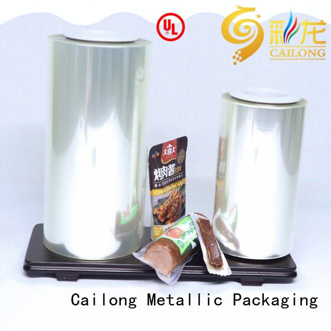 Cailong Brand pet film quality alox film