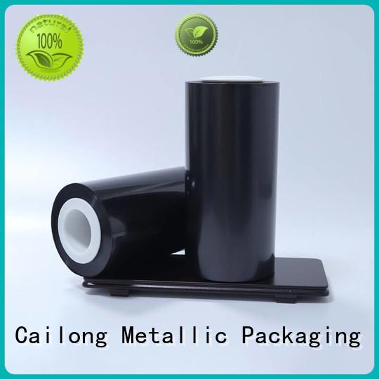 Cailong color transparent color film manufacturer for printing