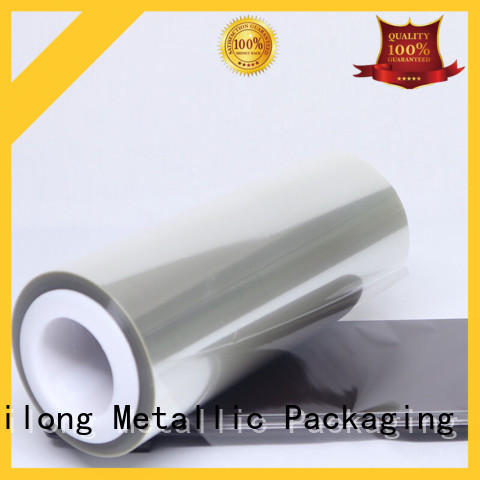 pet clear plastic film supplier used for labels Cailong