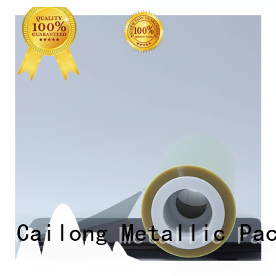 pethp clear mylar film roll vendor for medical packaging Cailong