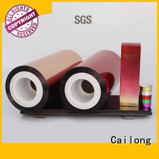 color colored pet film vendor for advertising Cailong