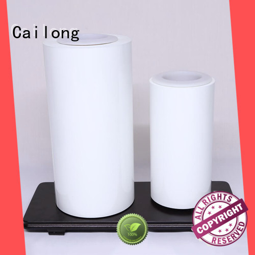 white pet transparent sheet petts for packing foor Cailong