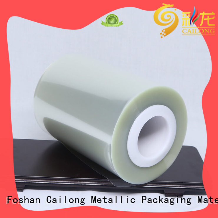 Cailong printing plastic film roll long-term-use used for labels