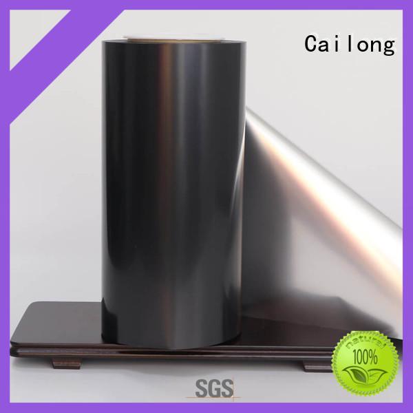 Cailong vmpet metallic film ffor Decorative