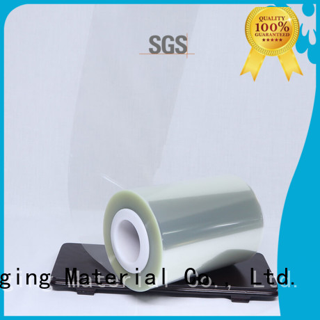 Cailong pet anti static film certifications for stickers