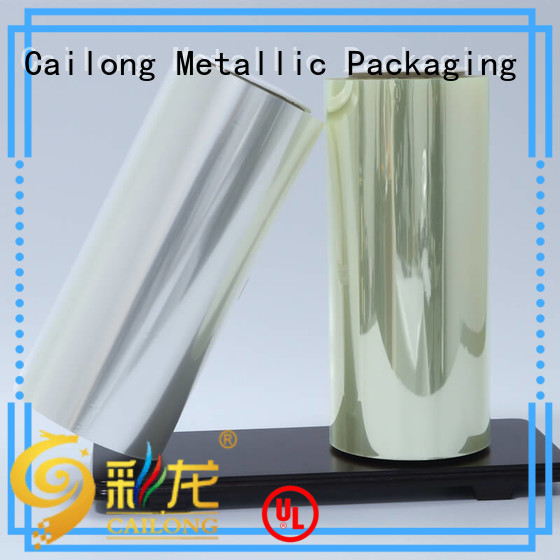 Cailong Plain transparency film pet for advertising