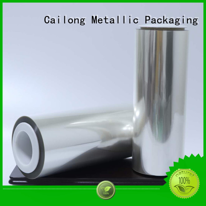 Cailong thin alox film film for biscuits