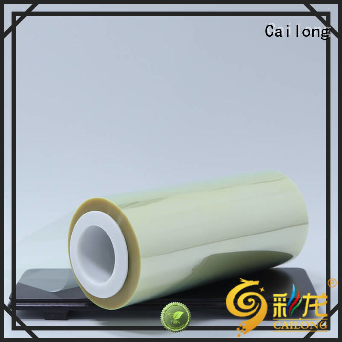 Cailong fine- quality pet film material vendor for medical packaging