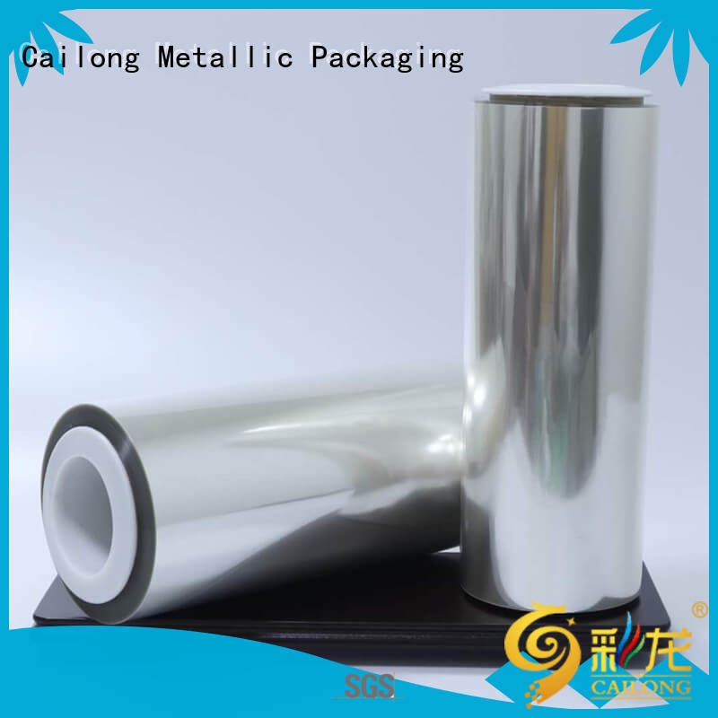 Cailong high-quality food packaging film factory price used for labels