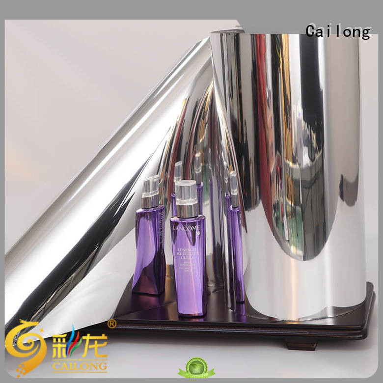 Cailong Anti- Explosion metallised film marketing for product