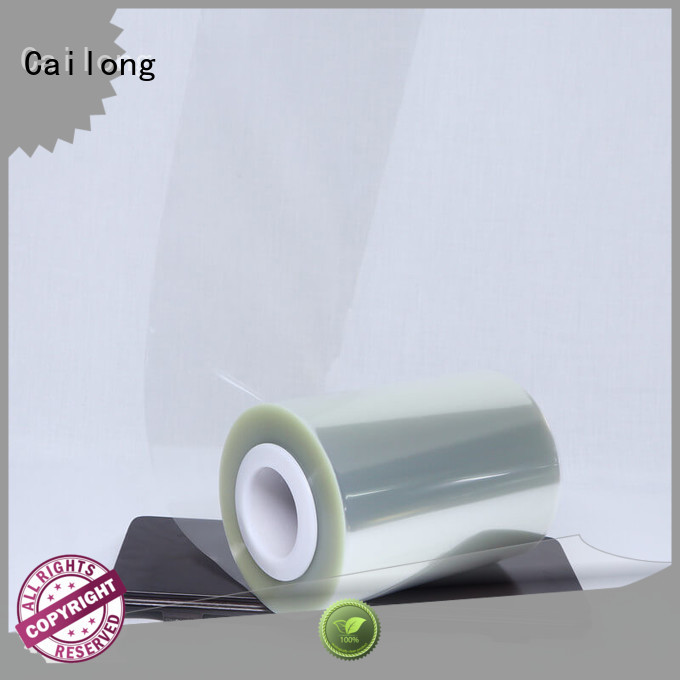 twist clear pet film petgt for stickers Cailong