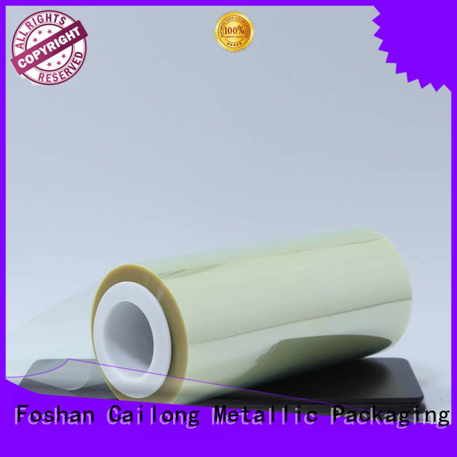 Cailong Anti- Static mylar polyester film certifications decorative materials