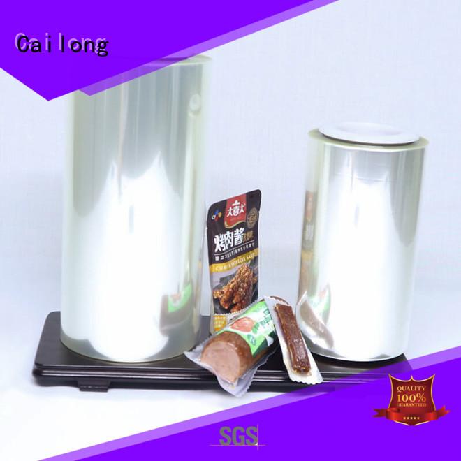 Cailong film aluminized plastic