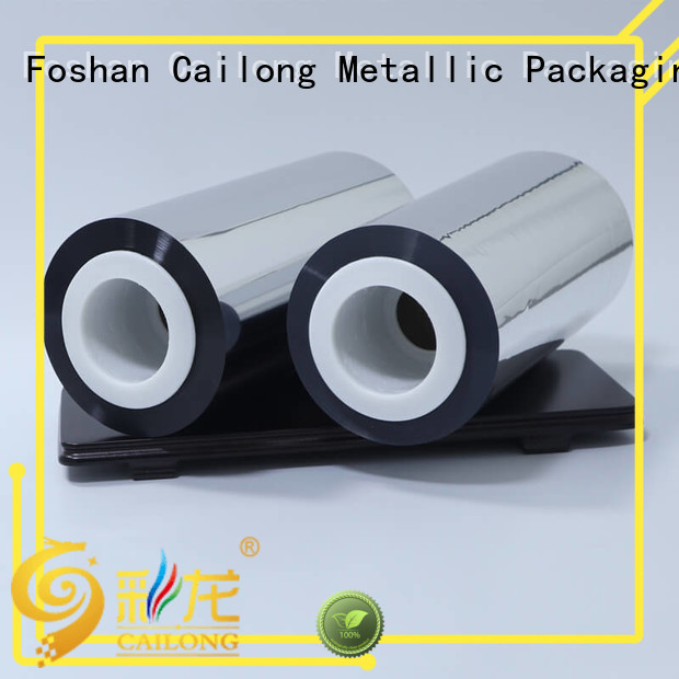 metalized plastic sheet bopp for decorative materials Cailong